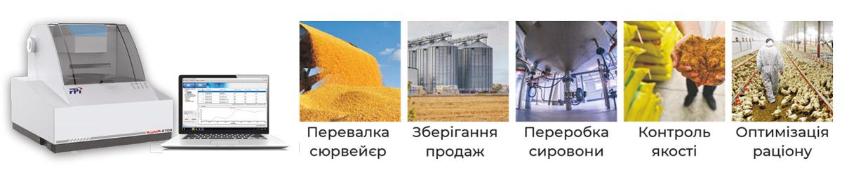 Экспресс анализатор зерна и сырья для лабораторий элеваторов, портов, перерабатывающих заводов SupNIR-2700