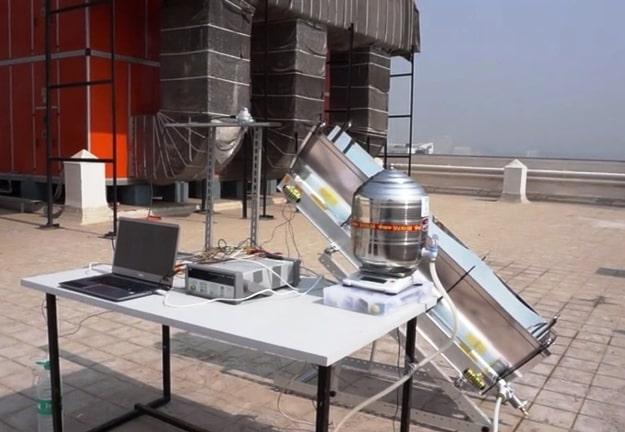 новая перспективная разработка - концентратор солнечных лучей для получения горячего пара с целью питания стерилизационного оборудования для медицинских инструментов