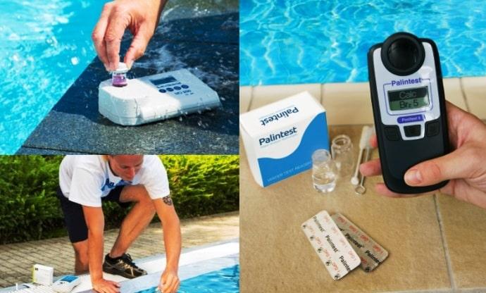 для экспресс анализа воды потребуются портативные приборы
