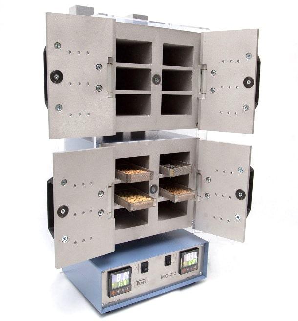 в лабораториях стационарный анализ влажности производится при помощи сушильного шкафа