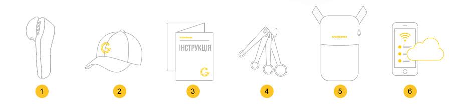 Комплектация анализатора зерна для фермеров GrainSense Украина