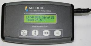 Термометрия элеваторов с переносным терминалом - Агролог TMS2500