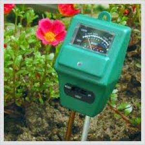 рН-метр/Влагомер/Люксметр для почвы AMT-100