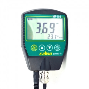 EZODO MP-103GL рН-метр для вязких веществ с выносными электродами GL42/GL43 и термодатчиком