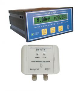 UKRAINE РН-101П рН-метр/контроллер