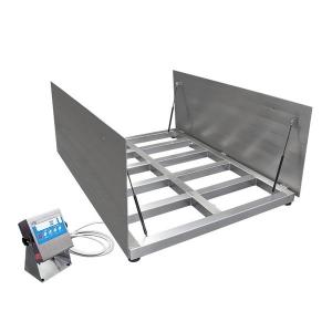 WPT/4 6000 H10/Z Stainless Steel Platform Scales, pit version