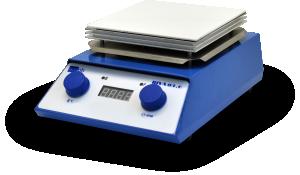 Магнитная мешалка РИВА-03.6 с керамической поверхностью, подогревом, термопарой и дисплеем