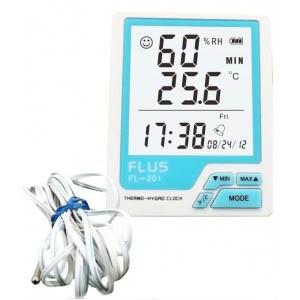 Термогигрометр Flus FL-201W
