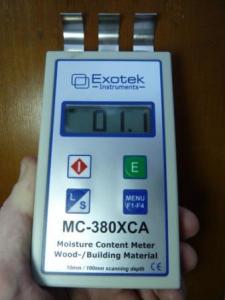 Влагомер древесины и стройматериалов EXOTEK MC-380XCA
