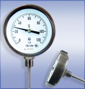 Термометр биметаллический ТБ специальный