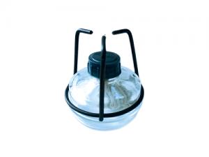 Спиртовка лабораторная СЛ-2 с фенопластовым колпачком и подставкой