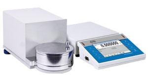 Аналитические весы для взвешивания фильтров Radwag