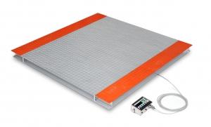 Весы платформенные электронные низкопрофильные обычного исполнения
