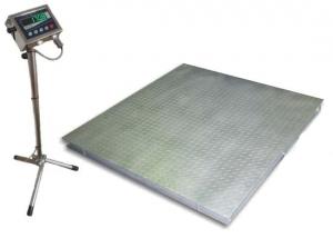 Весы платформенные электронные низкопрофильные пыле-влагозащищенные