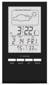 Термогигрометр (метеостанция) T-14