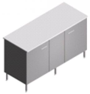 Стол пристенный, лабораторный, закрытый СП-2-ЛЗ-1.5