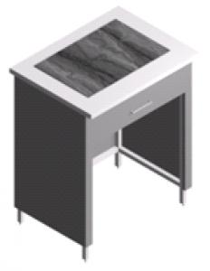 Стол лабораторный, антивибрационный для аналитических весов СВ-1Я-0.8