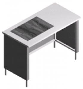 Стол лабораторный для аналитических весов, укороченный СВ-1-1.2