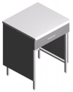 Стол пристенный, миниатюрный лабораторный СП-2-ЛЯ-0.6