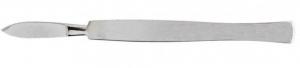 Скальпель хирургический остроконечный средний. Длина 15 см