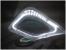 6018 LED Лампа-лупа 3+12 диоптрий, большая линза 18х15см