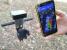 Приложение geometer для измерения площади поля с RTK приемником (сантиметровая точность)