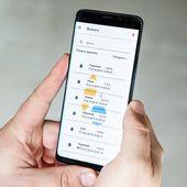 При синхронизации в вашем телефоне отображатся все измерения, сделаные на влагомере.