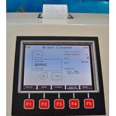 Дисплей и клавиатура анализатора примесей