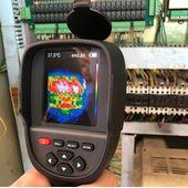 Тепловизор строительный Walcom HT-18с ИК камерой 220x160