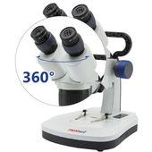 Микроскоп биологический лабораторный MICROmed SM-6420 20x-40x (МБС-10)