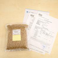 Эталонный образец пшеницы с определенными показателями качества из зерновой лаборатории
