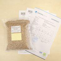 Эталонный образец пшеницы из аттестованной лаборатории для проверки оборудования для контроля качества зерна