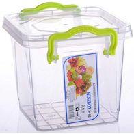 Контейнер для хранения продуктов с зажимами LUX
