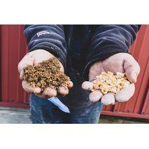 Используйте данные о влаге, белке, масличности и углеводах в вашем зерне для оптимизации рациона кормления животных
