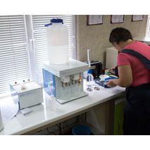 Система Глютоматик 2100 в зерновой лаборатории на морском терминале