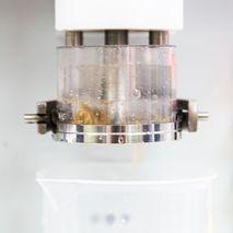 Маркированная чашка для отмывки клейковины, 2й этап отмывки