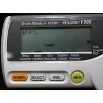 Цифровой дисплей измерителя влажности зерна Riceter F508
