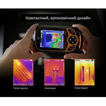 бытовой тепловизор для энергоаудита Walcom HT-A1 с инфракрасной камерой 220x160 пикселей
