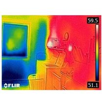 инфракрасная термометрамма тепловизора FLIR C2