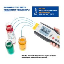 электронный термометр с термопарой K-типа WALCOM HT-9815