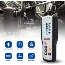 многоканальный термометр с термопарой K-типа WALCOM HT-9815