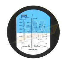 Рефрактометр для антифриза, омывателя, электролита (-50 ~ °С ) WALCOM REF 405/ 415