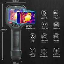 строительный тепловизор (384x288) с WiFi WALCOM HT-H8 для энергодиагностики зданий