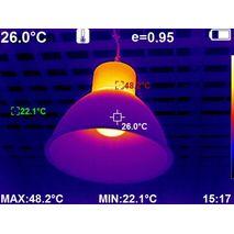 тепловизор с ИК камерой высокого разрешения 384x288 с WiFi WALCOM HT-H8