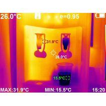 тепловизор для стройки с инфракрасной камерой 384x288 с WiFi WALCOM HT-H8