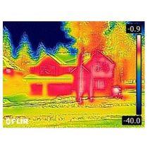 инфракрасная термограмма тепловизора FLIR C3 с Wi-Fi