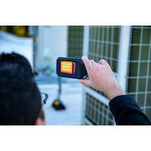 обследование тепловизором FLIR C5 зданий на предмет тепловых потерь