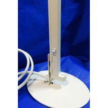 Недорогой УФ светильник OБН 1x8 с вертикальным размещением бактерицидный облучатель занимает мало места