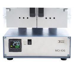 МО-106 лицевая панель. Установка и считывание температуры осуществляется с помощью PID-регулятора