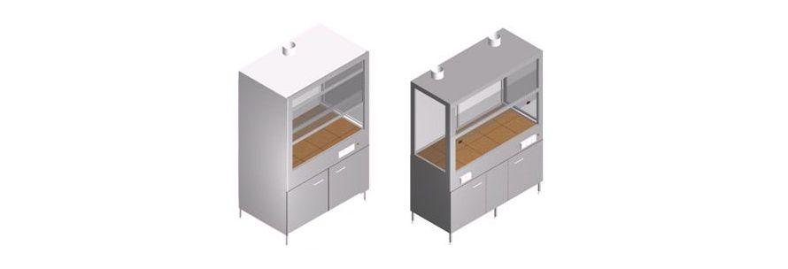Вытяжные шкафы для химических анализов в лабораториях